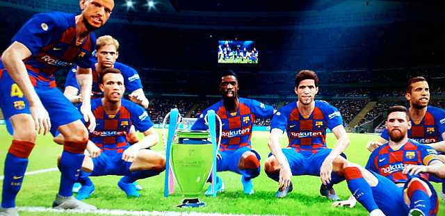 PES 2020 Trophies and Entrance Scenes For PC by Noorhassan