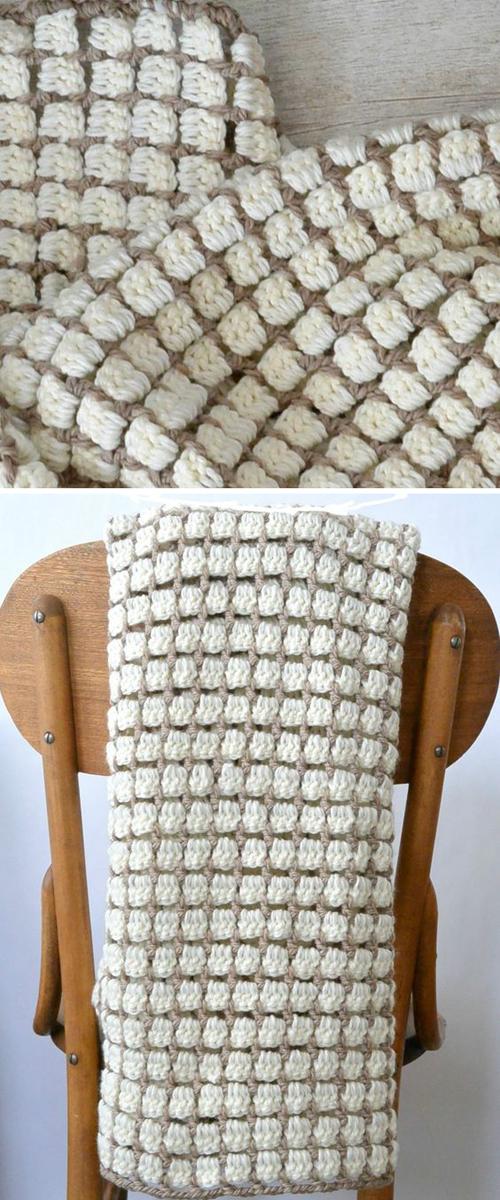 Hearthside Crochet Blanket - Free Pattern