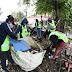 La Comuna retiró enormes volúmenes de basura acumulada en domicilios particulares