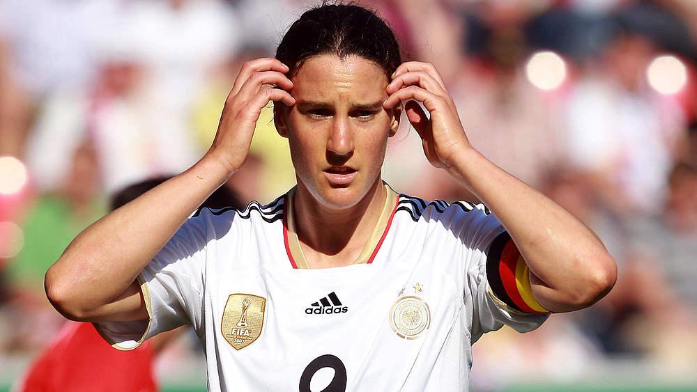 Birgit Prinz completou 214 jogos pela Seleção Alemã e é recordista no quesito