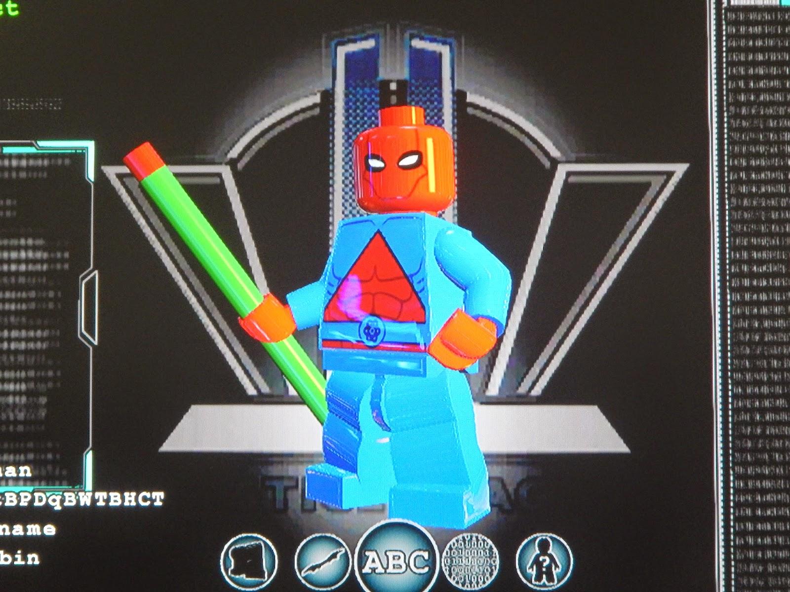Fortress of Stuffitude: Lego Batman 3 Custom Characters