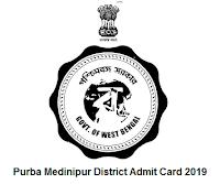 Purba Medinipur District Admit Card