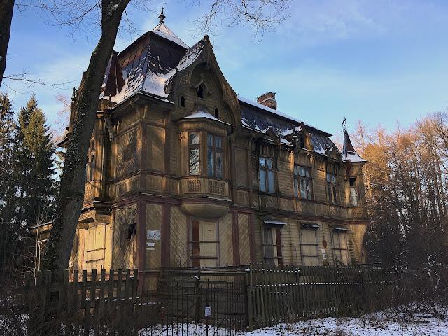 Шуваловский парк русский дом изба архитектура зодчество Парголово