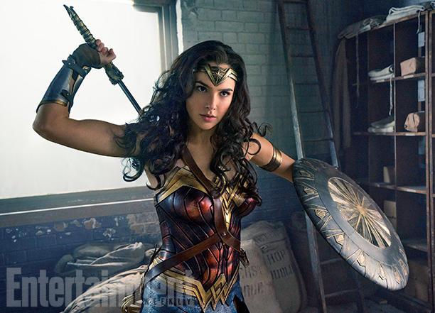 Wonder Woman en Entertainment Weekly