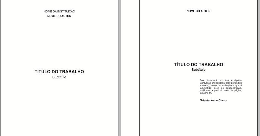 Trabalho De Historia Abnt Monografia Ajuda