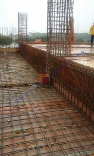 waterstop Biasanya digunakan untuk sambungan antara beton lantai, dinding dengan lantai, dan untuk sambungan menerus beton, perubahan arah, dll.