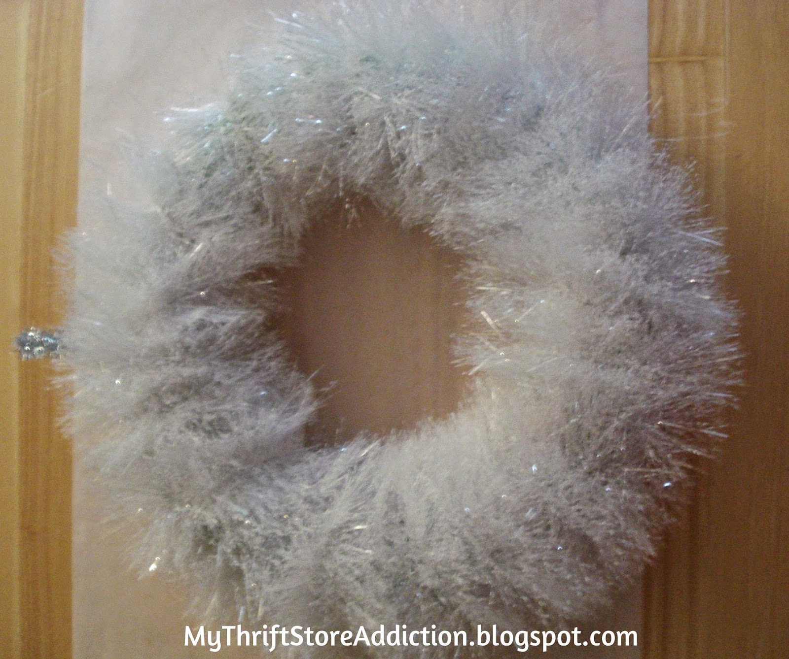 DIY Vintage ornament wreath
