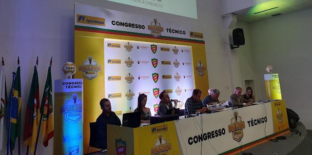 Congresso técnico divulgou os confrontos (Foto: Divulgação)