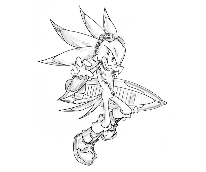 Sonic Jet Coloring Pages Ciceron Coloring Mewarnai Site