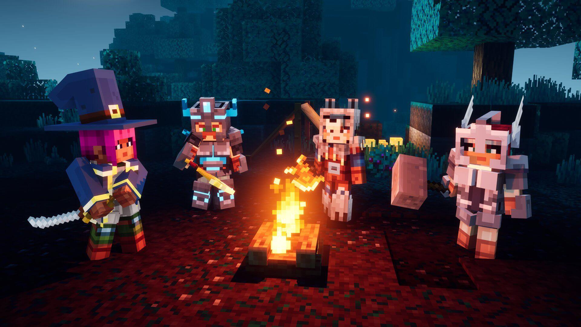 Minecraft Dungeons (Multi) receberá suporte ao cross-play em 9 de