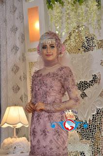 gaun bridal muslim modern