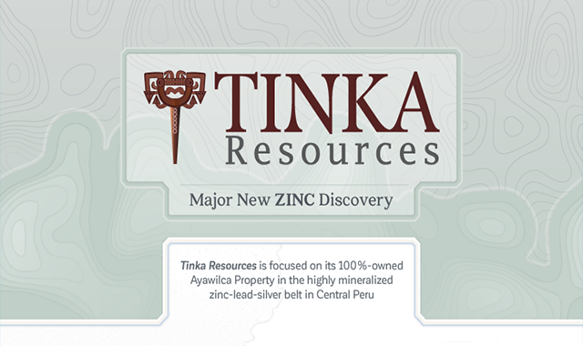 Tinka Resources: Major New Zinc Discovery