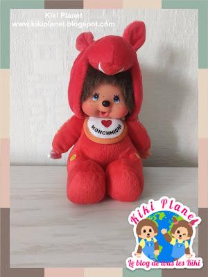 kiki Monchhichi rody plushie toys