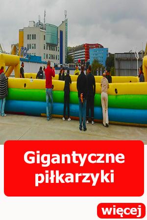 Dmuchańce Wrocław, dmuchane gigantyczne piłkarzyki