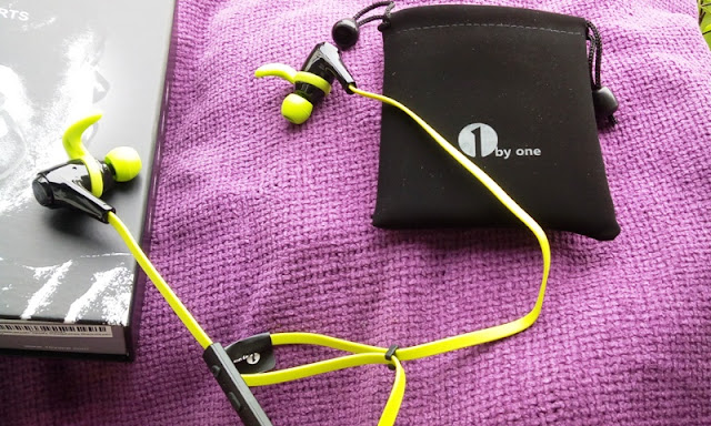 1Byone Bluetooth 4.1 Workout In-Ear Headphones Amongst Mic!