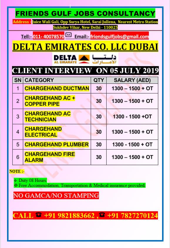 GULF JOBS NEWSPAPER ADVERTISEMENT 4-7-2019 PART 2 - gulf jobs