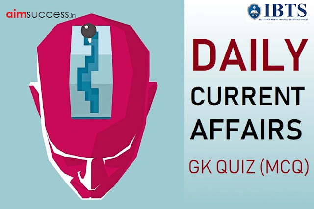 Daily Current Affairs Quiz : 31 August 2018