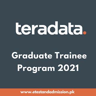 Teradata Graduate Trainee Program 2021