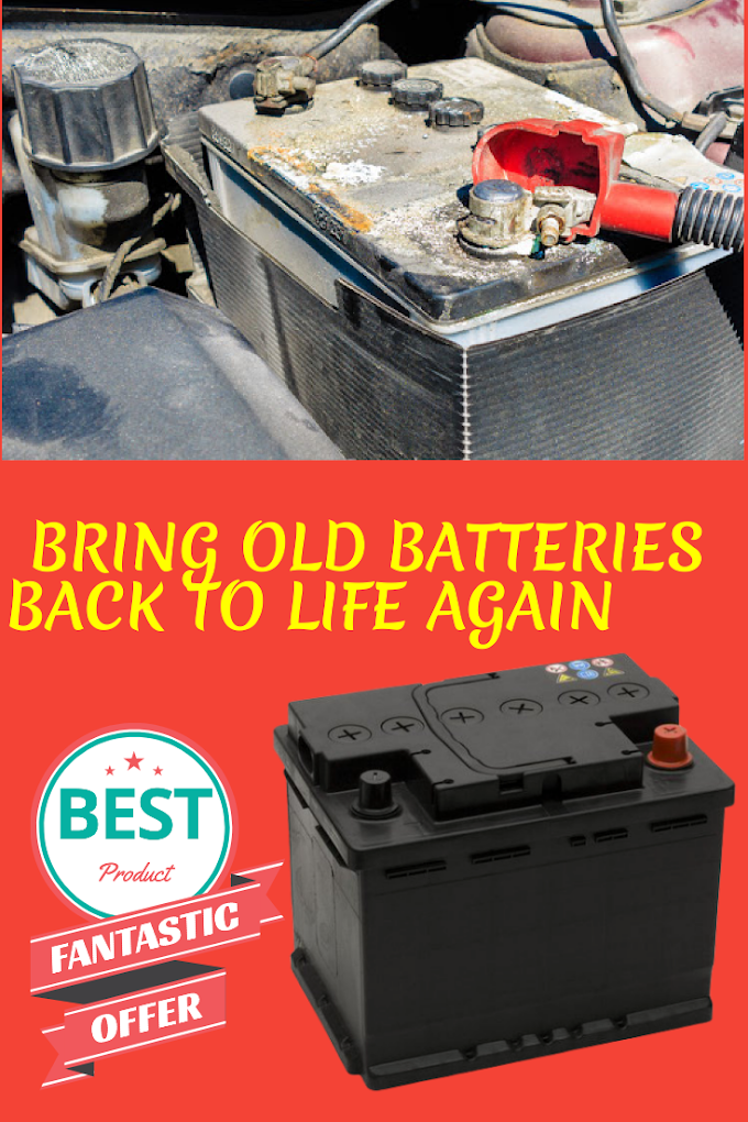 Bringing Dead Batteries Back To Life Is Simple Way