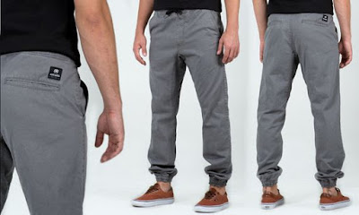 model celana joggers pant