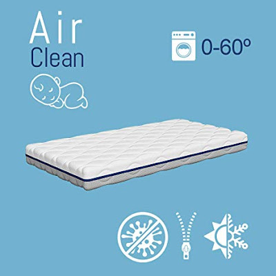 Air Clean, el colchón de cuna antiasfixia
