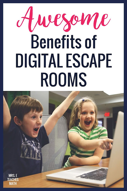 Do your middle school or high school students love digital escape rooms? These educational benefits will have you using escape rooms in your classroom this year!