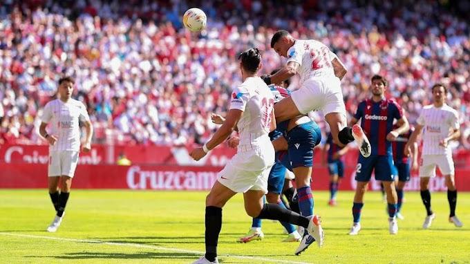 Sevilla 5 - 3 Levante: Sevilla edge eight goal thriller to go top