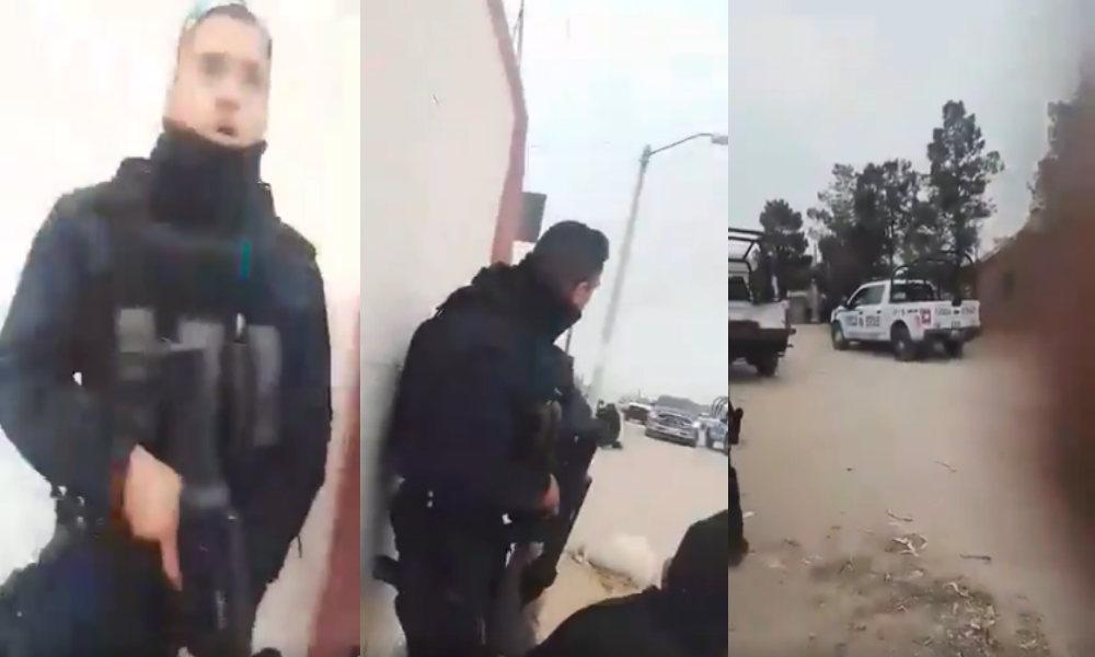 """Tras fuerte enfrentamiento entre Policías de Chihuahua y sicarios atrincherados en """"casa de seguridad"""", dejan 6 sicarios abatidos"""