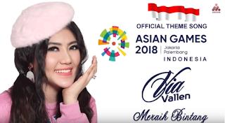 Download Lagu Via Vallen Meraih Bintang Mp3 (Official Song Asiah Games 2018),Via Vallen, Lagu Pop, Dangdut, 2018,