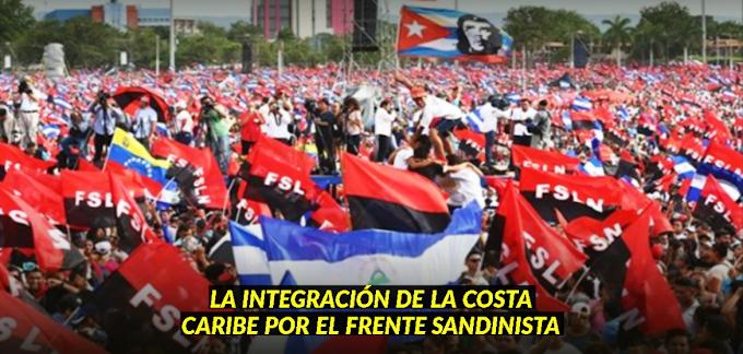 El Frente Sandinista y la integración de la Costa Caribe