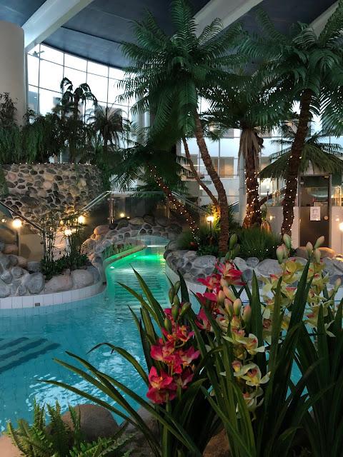 Talviloma Suomessa - Holiday Club Kuusamon Tropiikki kylpylän aktiviteetit