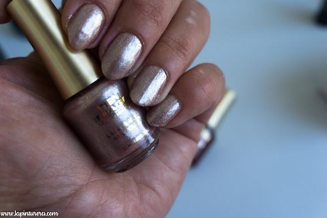 manicura Pink Gold