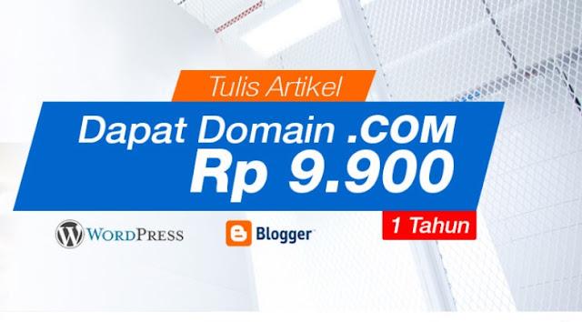 Cara mendapatkan domain .com murah dari exabytes.