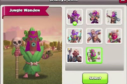 Clash of Clans New Jungle Warden Skin Revealed! Jungle Grand Warden Skin PNG