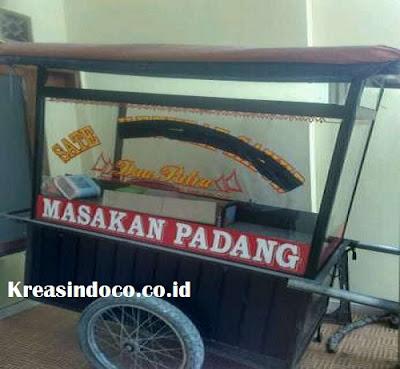 Harag Gerobak Sate Padang, Harga murah jabodetabek