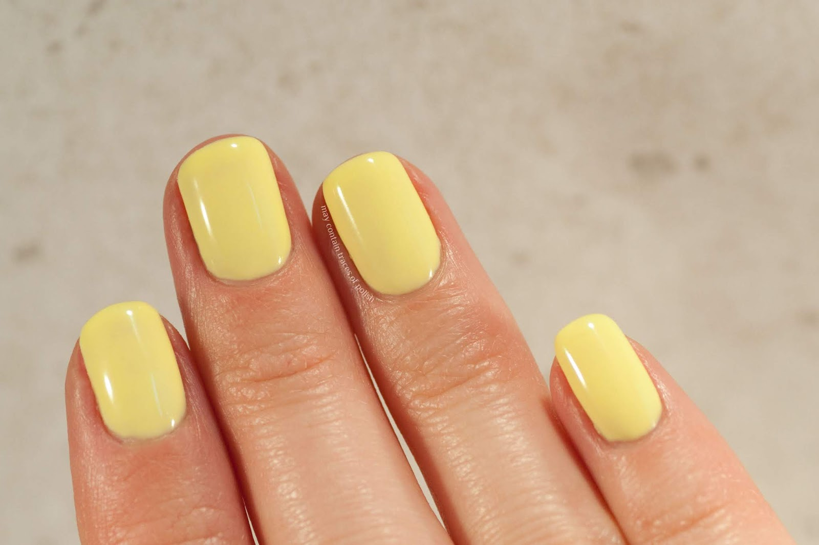 Pink Gellac Swatches - 213 Juicy Yellow