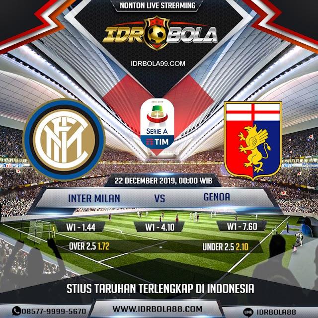 IDRBOLA - Prediksi Bola Inter Milan VS Genoa 22 Desember 2019