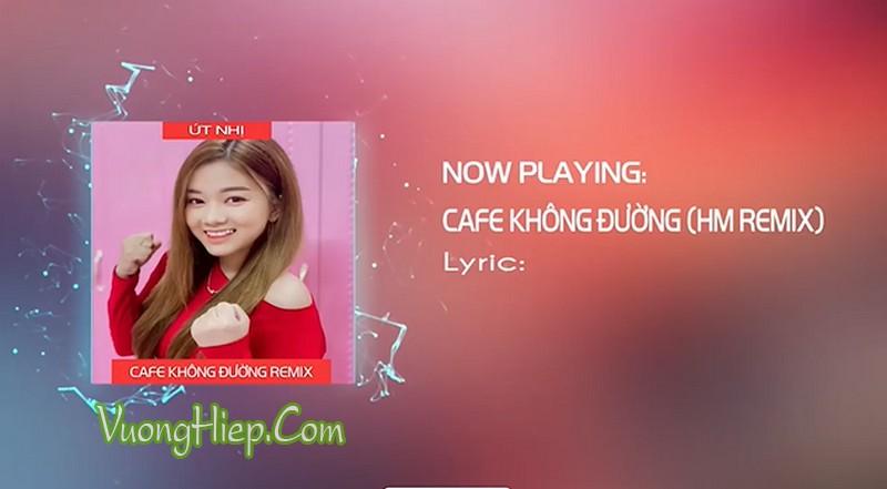 Cafe Không Đường (Remix)  | Út Nhị Mino Cover