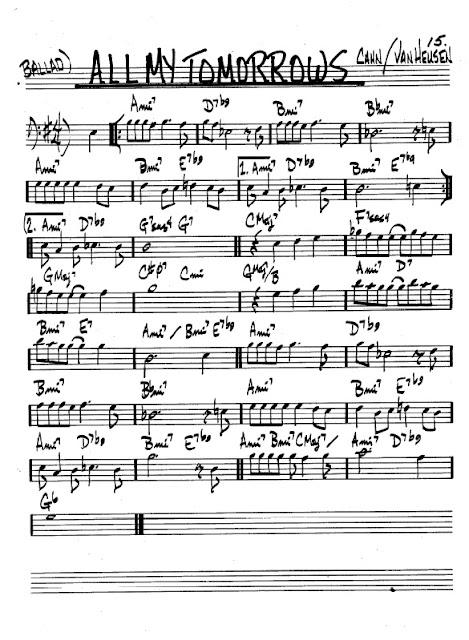 Partitura Violonchelo Cahn and Van Heusen