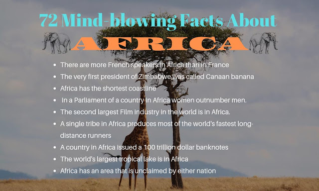 72 Interesting And Amazing Facts About AFRICA