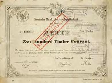 เอกสารลับความสัมพันธ์ Deutsche Bank กับ นาซี