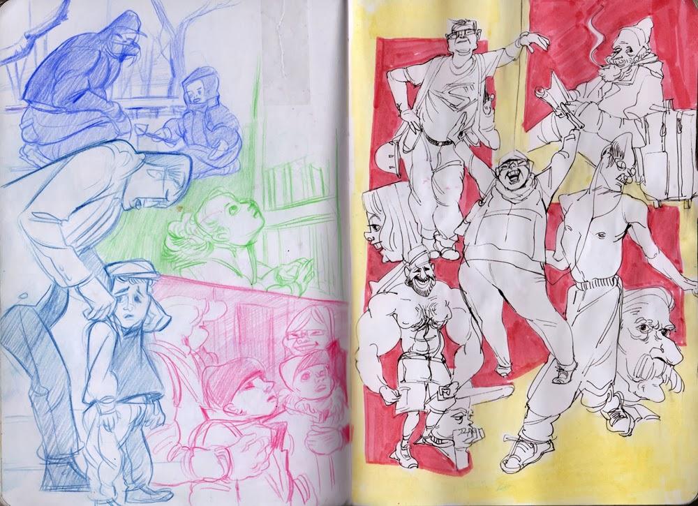 RISD (MICA & SVA & ART CENTER) ACCEPTED PORTFOLIO 2014