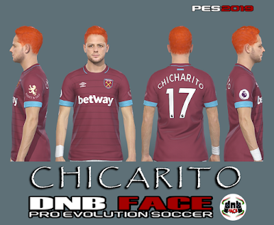 PES 2019 Faces Chicharito by DNB