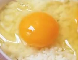 Nasi telur korea