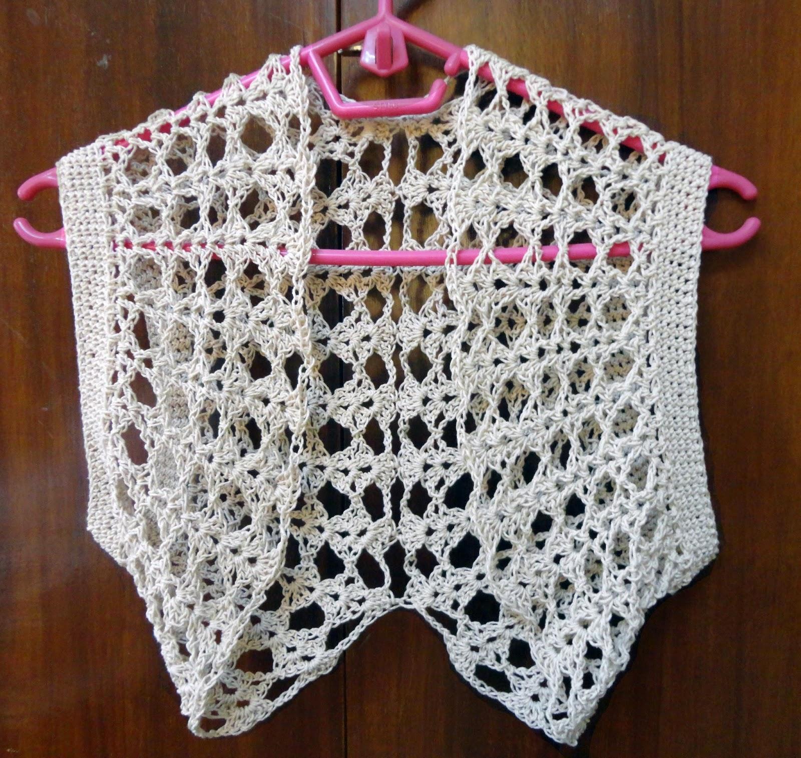 Handmade By Daisy Circular Crochet Bolero Free Pattern