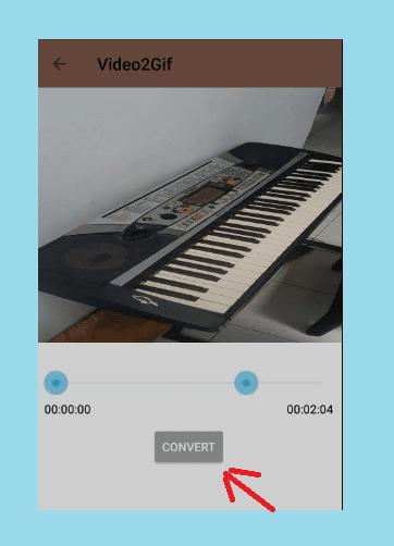 Atur Durasi Convert Video Menjadi GIF Untuk Story WA