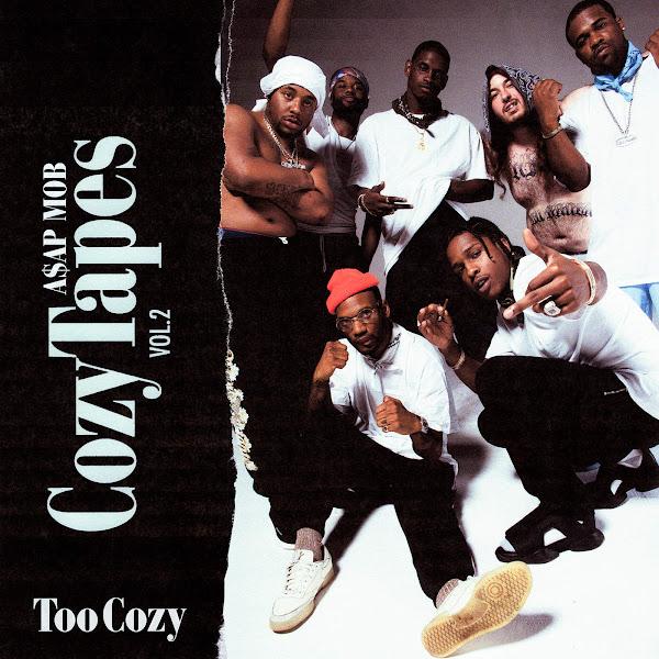 A$AP Mob - RAF (feat. A$AP Rocky, Playboi Carti, Quavo, Lil Uzi Vert & Frank Ocean) [Updated] - Single Cover