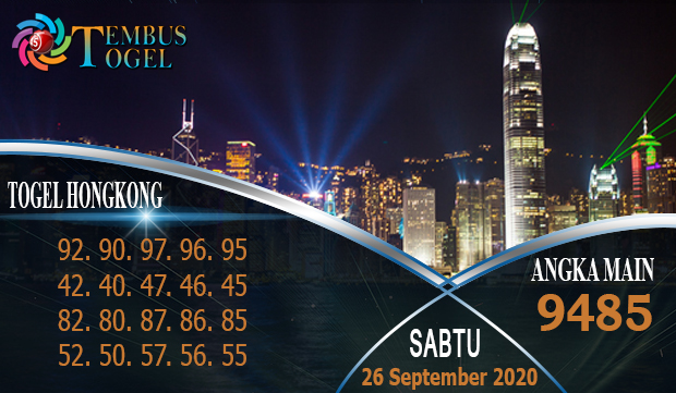Nomor Matot Togel Hongkong Sabtu 26 September 2020