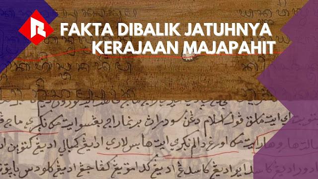 Riwayat Jatuhnya Kerajaan Majapahit Dalam Jejaring Naskah-naskah di Era Wali Songo