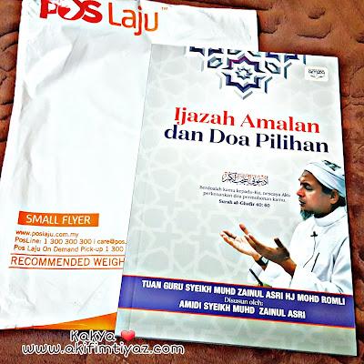 Buku Ijazah Amalan dan Doa Pilihan daripada Tuan Guru Syeikh Muhd Zainul Asri